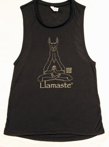 Llamaste Flowy Scoop Muscle Tank SALE (More Colors Available)