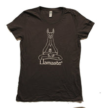 Load image into Gallery viewer, Women's Organic Cotton Llamaste Yoga T (More Colors Available)