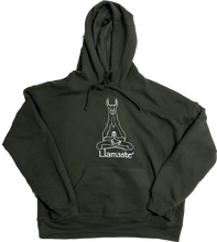 Load image into Gallery viewer, Llamaste Olive Hoodie