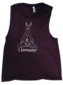 Llamaste Flowey Scoop Muscle Tank (More Colors Available)
