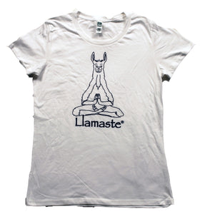 Women's Organic Cotton Llamaste Yoga T (More Colors Available)