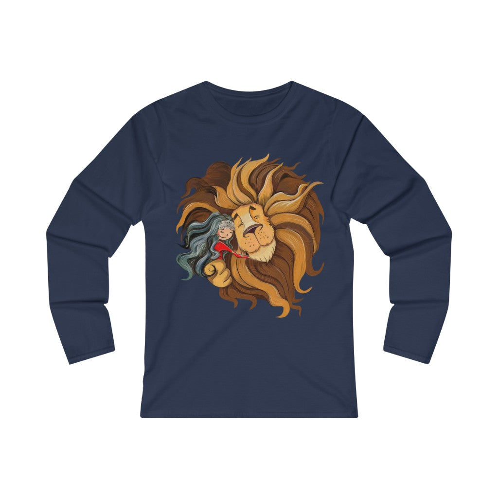 Afghan Girl - Women's Fitted Long Sleeve Tee