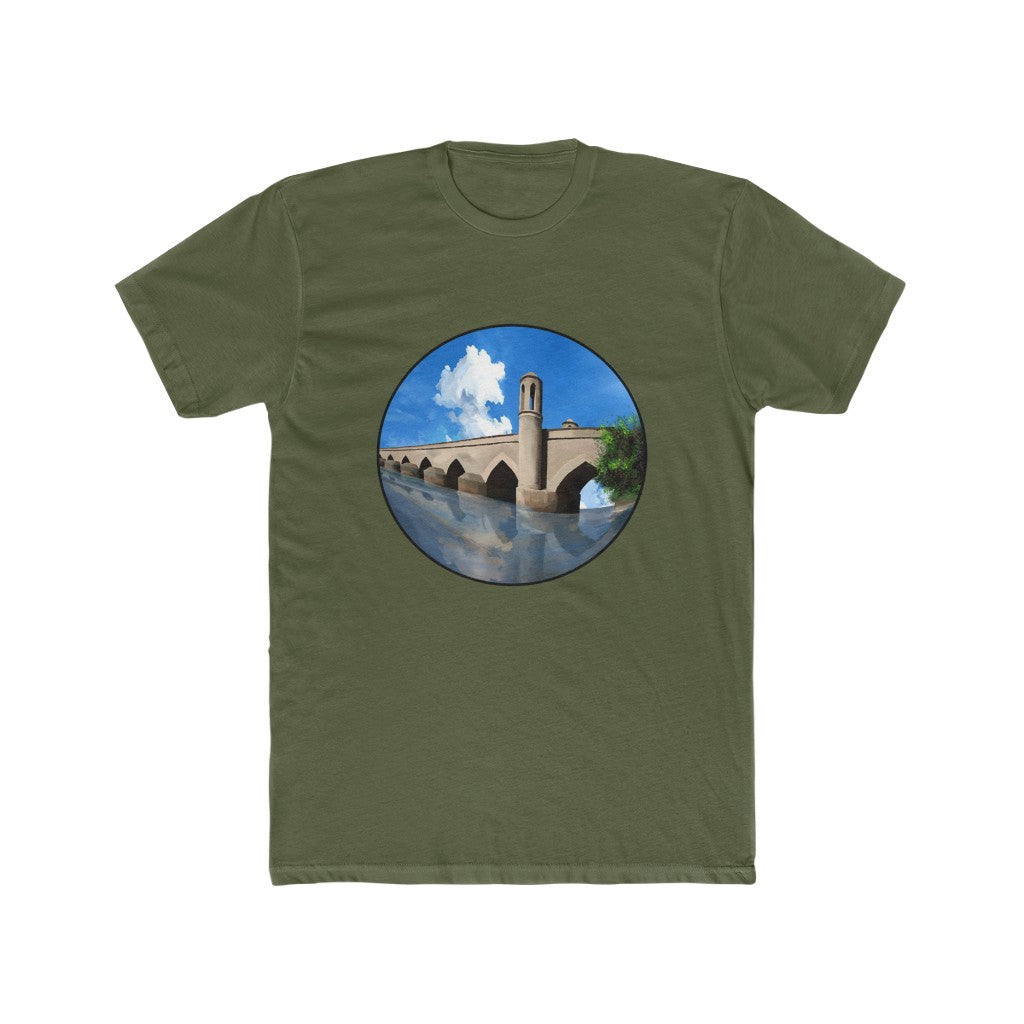Poll Malan Herat - Men's Cotton Crew Tee