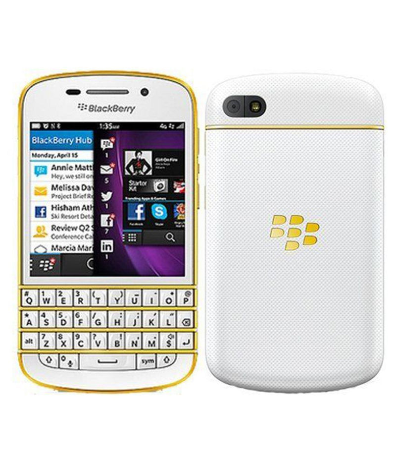 BlackBerry Q10 Import (Gold-Edition)
