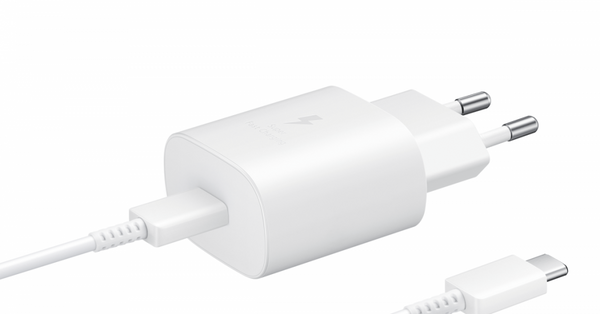 Samsung Super Fast Charging (25w) Adapter,USB Type-C to Type-C Cable