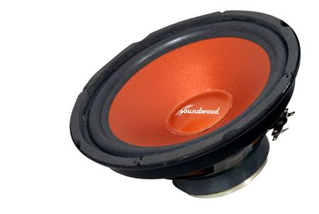 Soundwood SW8i 240 Watt Round Woofer Component Car Speaker