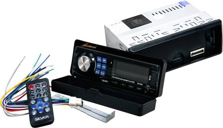 Soundwood Silver Series SV-5062 USB Detachable Car Stereo  (Single Din)