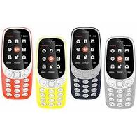 Nokia 3310 Dual Sim (Red/Blue/Grey) Used In Good Condition (with Compatible accessories)