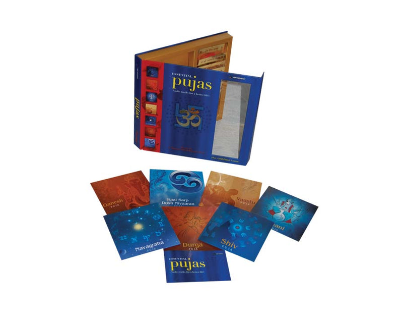 Essential Pujas - Vedic Truth for a better Life (7 Puja Vidhi Audio CDs)