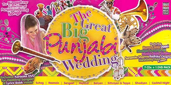 The Great Big Punjabi Wedding (CD-7, DVD-1)