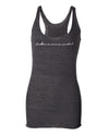Excellence is Never an Accident Womens Racerback Tank