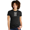 FEAR LESS Womens Short Sleeve Eco-Tee