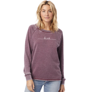 Let It Be Women's French Terry Sweatshirt