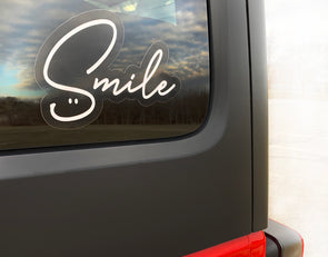 SMILE Sticker - creativitees.store
