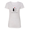 Same Color On the Inside Womens Short Sleeve Tee - creativitees.store