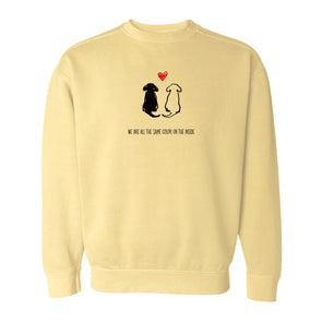 Same Color On the Inside Sweatshirt - creativitees.store