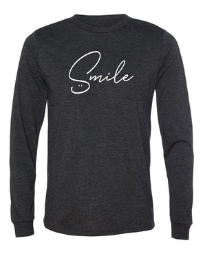 SMILE Unisex Long Sleeve Tee