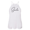 SMILE Womens High Neck Tank - creativitees.store