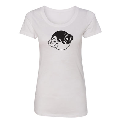 Um Yang Dogs Womens Short Sleeve Tee