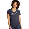 YOUnite Womens Short Sleeve V-Neck Eco-Tee