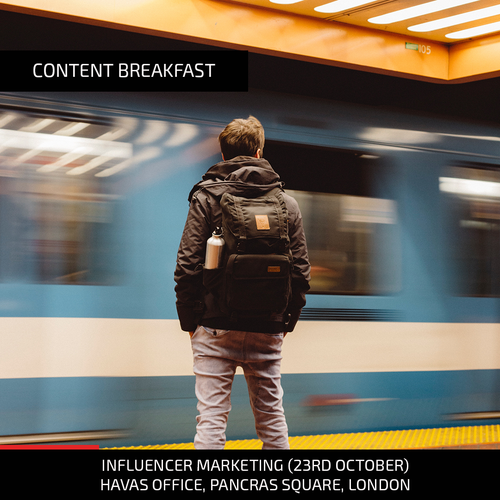 Influencer Marketing Event Poster