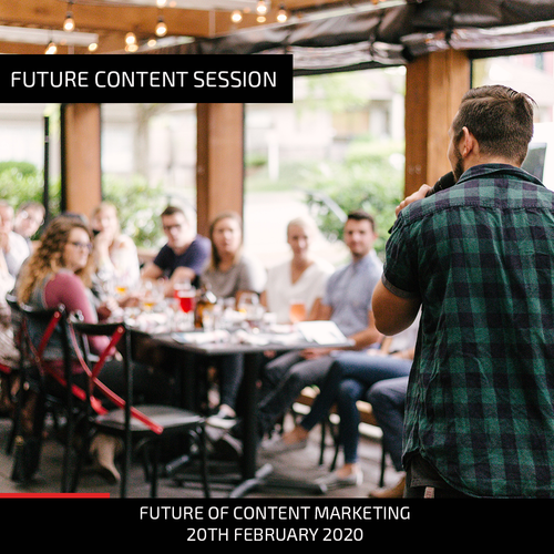 Future Content Session: Feb 2020