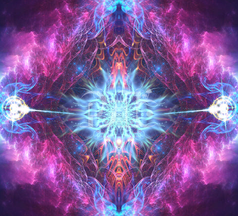 """""""Angelic Force"""" Psychedelic Fractal Art"""