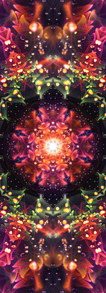 """""""Beyond the Canopy"""" Fractal Flower Mandala, Psychedelic"""