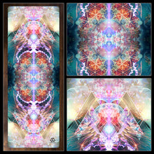 "Load image into Gallery viewer, ""Primordial Soup"" - Trippy Jelly Fish YOGA MAT"