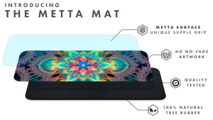 """Free Your Mind"" Psychedelic Mandala YOGA MAT"