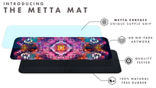 "Load image into Gallery viewer, ""Endless Mallow"" - Flower Mandala YOGA MAT"