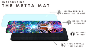 """Hunter's Moon"" - Jungle Tiger Moon Phase YOGA MAT"