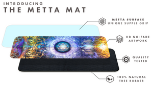 """Immortal Truth"" Ouroboros Seed of Life YOGA MAT"