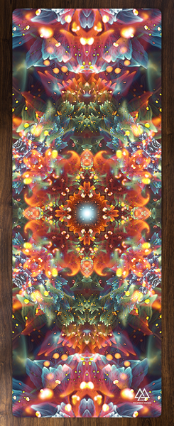 """Radiant Bliss"" - Flower Mandala YOGA MAT"