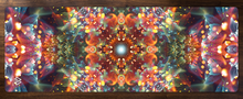 "Load image into Gallery viewer, ""Radiant Bliss"" - Flower Mandala YOGA MAT"