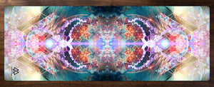 """Primordial Soup"" - Trippy Jelly Fish YOGA MAT"