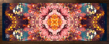 "Load image into Gallery viewer, ""Reaching for Light"" - Flower Mandala YOGA MAT"