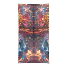 "Load image into Gallery viewer, ""The Wanderers"" - DMT God Head Face Mask / Neck Gaiter"