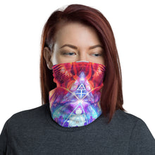 "Load image into Gallery viewer, ""Lapis Philosophorum"" - Philosopher's Stone Face Mask / Gaiter"