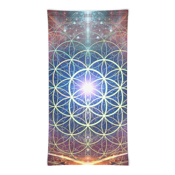 """Source"" - Flower of Life Face Mask / Gaiter"