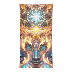 """The Wanderers"" - DMT God Head Face Mask / Neck Gaiter"