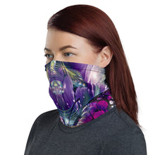 "Load image into Gallery viewer, ""Emergence"" - Fractal Butterfly Face Mask / Gaiter"