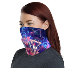 "Load image into Gallery viewer, ""Flow State"" - Fractal Mandala Face Mask / Gaiter"
