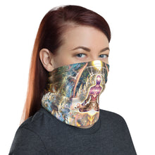 "Load image into Gallery viewer, ""Density 432"" - Om Face Mask / Gaiter"