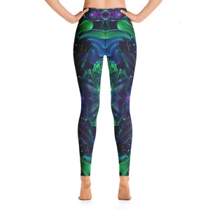 """Awakened"" - Psychedelic Yoga Leggings"