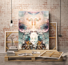 "Load image into Gallery viewer, ""Protector of Light"" - Wolf Canvas"