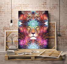"Load image into Gallery viewer, ""Genesis"" - Lion / Lioness Canvas"