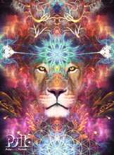 "Load image into Gallery viewer, ""Genesis"" - Lion Tapestry"