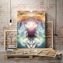 "Load image into Gallery viewer, ""Celestial Vibrations"" - Headphones Canvas"
