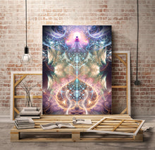 "Load image into Gallery viewer, ""The Alchemist's Breath"" - Buddha Canvas"